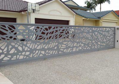Laser Cut Driveway Gate