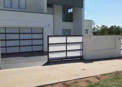 Custom Panel Driveway Gate