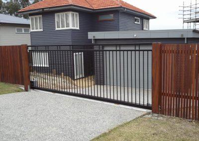 Modern Slider Driveway Gate