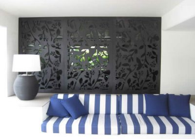 Laser Cut Plywood Screen