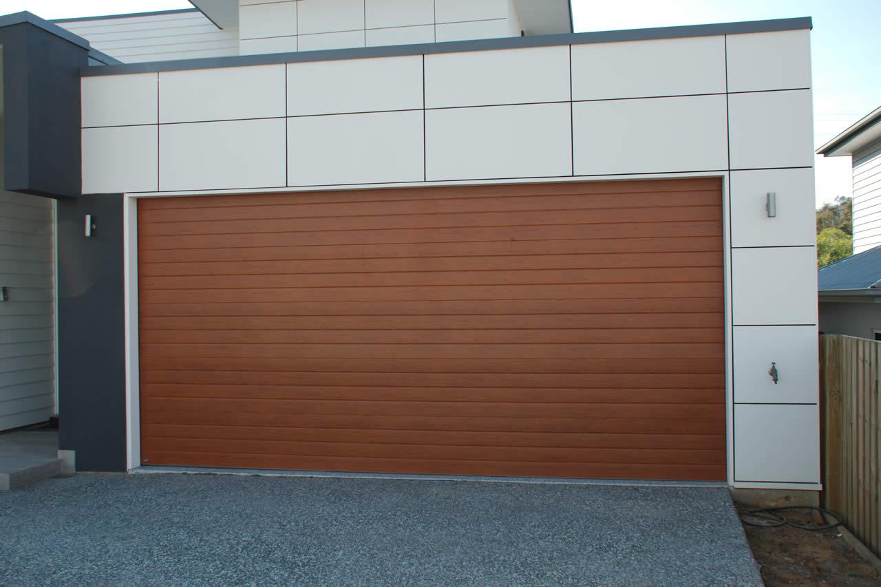 colourbond panel garage doors